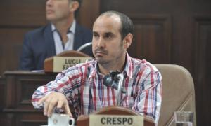 Gastón Crespo, el concejal denunciado.