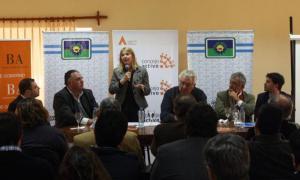 Cristina Álvarez Rordíguez en Capitán Sarmiento.