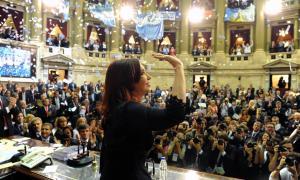 Cristina brindará su último discurso en el Congreso nacional.