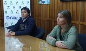Acerbo y Sierra. Foto: Prensa Municipalidad