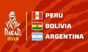 Comienza el Rally Dakar 2018 Perú - Bolivia - Argentina