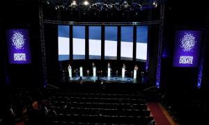 El último debate presidencial en 2015 se realizó en la Facultad de Derecho de la UBA
