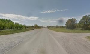 Piden al gobierno bonaerense la pavimentación de la Ruta Provincial N°61. Foto: Maps