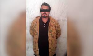 Raúl Velaztiqui Duarte fue arrestado por falso testimonio.