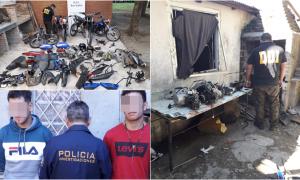 San Isidro: Robaba motos, las desarmaba y las vendía por Facebook, y fue detenido