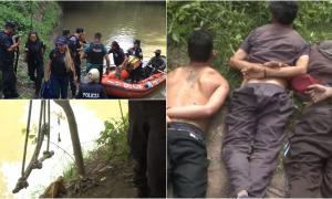 Diez detenidos por narcotráfico: Tenían tirolesa y bote para cruzar el Río Matanza