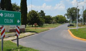 Una de las cinco intersecciones de la Ruta Nacional 8 que fue mejorada. Foto: Twitter Javier Iguacel