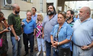 Gremios volvieron a reclamar que Vidal los convoque a una renión paritaria. Foto: Prensa