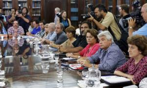 Revés judicial y fallo a favor de los docentes. Foto: Prensa