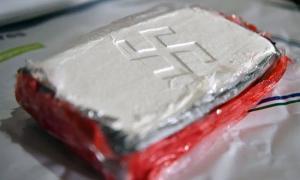 La droga tenía el símbolo del fascismo alemán. Foto: Prensa