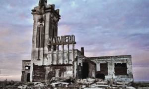 Un popular youtuber retrató las ruinas de Epecuén. Foto: Prensa