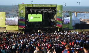 La inauguración de la edición 2019 en Mar del Plata. Foto: La Noticia 1.