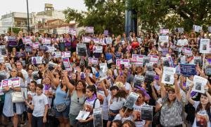 Día Internacional de la Mujer en Ituzaingó.