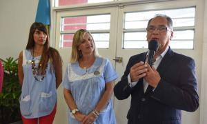 """Alberto Descalzo en el inicio de clases: """"No importa el color político, la educación está por encima de todo"""""""
