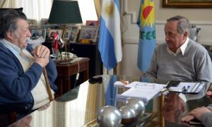 Se trata de Luís Zabaleta, de 78 años, que había perdido sus haberes. Foto: Prensa