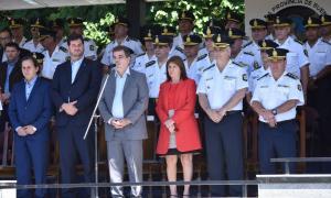 Patricia Bullrich y Ritondo participaron del egreso de más de 2800 nuevos policías de la Provincia