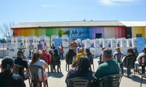 El acto fue publicitado en las redes oficiales del intendente Mauro García