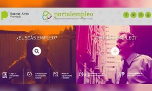 """La web de """"Portal empleo"""""""
