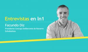 Facundo Diz dialogó con LaNoticia1.com.