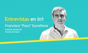 """Francisco """"Paco"""" Durañona dialogó con LaNoticia1.com."""
