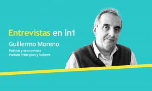 Guillermo Moreno dialogó con LaNoticia1.com.