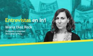 María Díaz Reck dialogó con LaNoticia1.com.