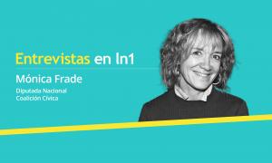 Mónica Frade dialogó con LaNoticia1.com.
