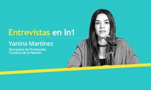 Yanina Martinez es abogada y Secretaria de Promoción Turística de la Nación