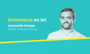 Leonardo Grosso dialogó con LaNoticia1.com.
