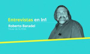 Baradel cuestionó al Gobierno y repudió agresiones a docentes.