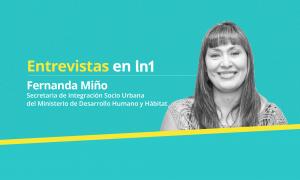 Fernanda Miño dialogó con LaNoticia1.com.