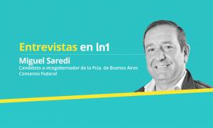 Miguel Saredi dialogó con LaNoticia1.com.