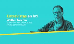 Walter Torchio dialogó en exclusiva con LaNoticia1.