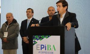 """Tizado en cierre de EPIBA: """"Vamos a trabajar para que haya más Parques Industriales en la Provincia"""""""