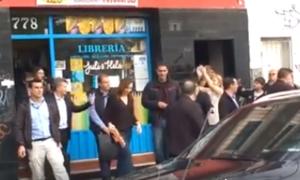 Vidal y Macri increpados en Tigre.