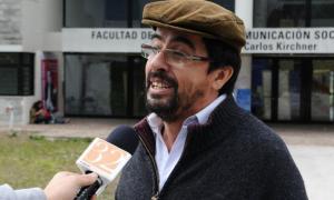 El líder de Quebracho, Fernando Esteche.