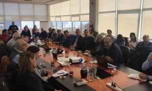 Campana: Mesa de trabajo con representantes de 11 municipios bonaerenses con eje en la producción