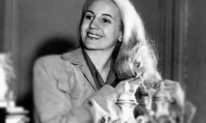 Recordaron a Evita a 68 años de su muerte
