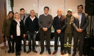 El Intendente Macri dio la noticia en el Instituto Bignone.