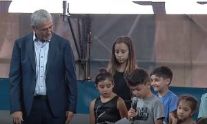 Avellaneda: Jura de Ferraresi al que se lo tomó un niño