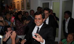 Fioramonti juró en Lobería. Foto: 2261