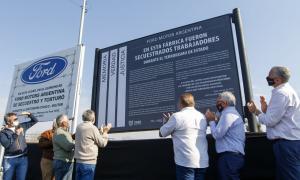 Pacheco: Repusieron señalización como Sitio de Memoria de la fábrica Ford