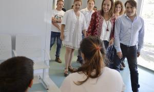 Vidal y Kubar recorrieron la renovada guardia de hospital de General Rodríguez