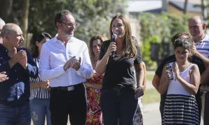 """""""Hemos dado la cara con todos los vecinos"""", dijo Vidal tras finalizar segunda recorrida por los 135 municipios"""