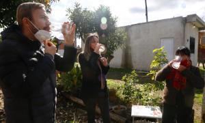 Ezeiza: Galmarini inauguró red de agua