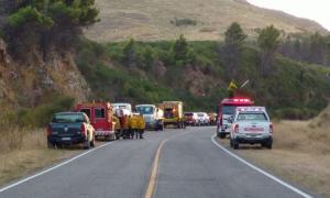 El fuego fue controlado. Foto: Noticias Tornquist.