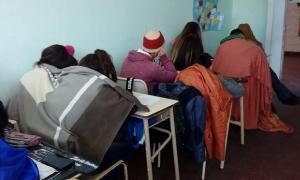 """La situación de la secundaria N°33 es """"angustiante""""."""