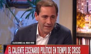 """Garro participó del programa """"Debo Decir"""" en América."""