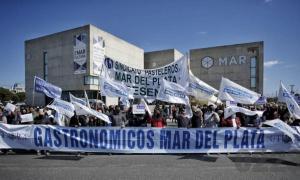 Protestas en Mar del Plata