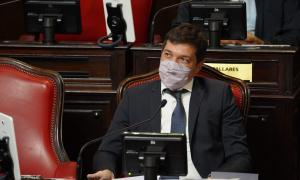 El presidente del bloque de senadores bonaerenses del Frente de Todos, Gervasio Bozzano